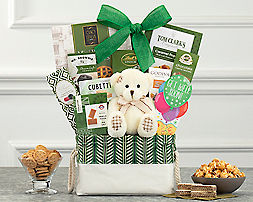 Bear Hugs - Get Well Soon Gift Basket - Item No: 989G