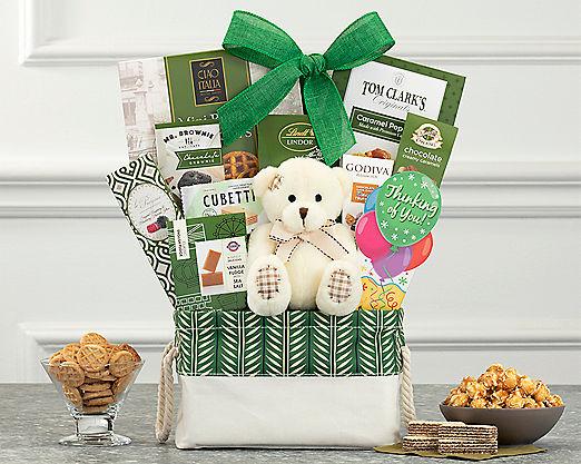 Bear Hugs - Thinking of You Gift Basket - Item No: 989Y