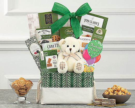 Bear Hugs - Thinking of You Gift Basket - Item No: 989Y