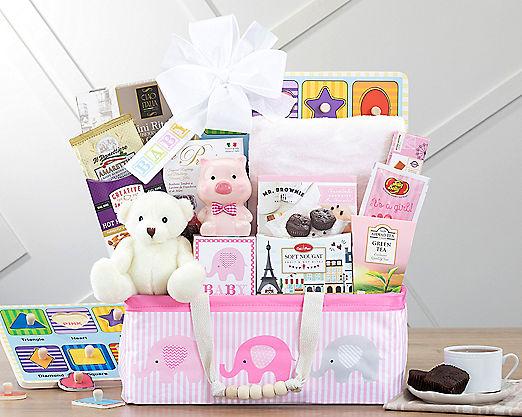 Bundle of Joy - Pink Gift Basket - Item No: 995