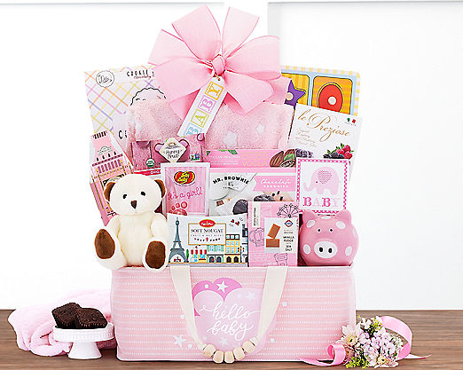 Bundle of Joy - Pink Gift Basket - Item No: 995
