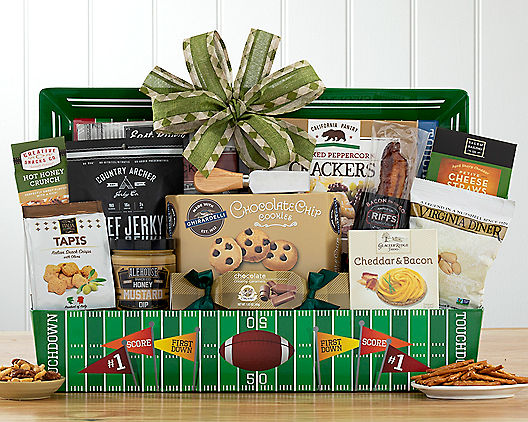 & Gridiron Football Classic Gift Basket at Wine Country Gift Baskets