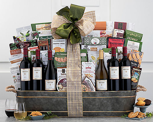 Houdini Vineyards Napa Valley Exclusive from Wine Country Gift Baskets Product Image
