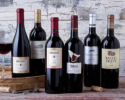 Red Wine Club - 3 Months from Wine Country Gift Baskets Product Image