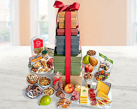 Fruit and More Extravaganza Gift Tower
