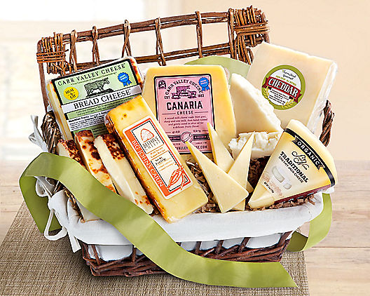 Artisan Cheese Collection Gift Crate