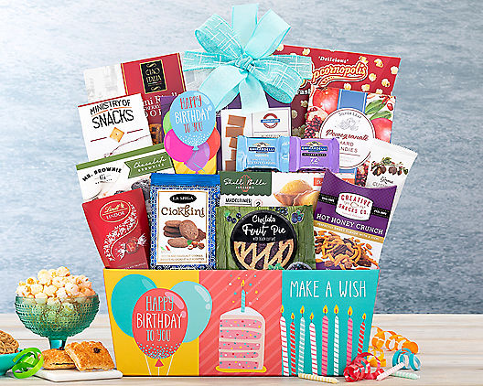Happy Birthday Gift Basket At Wine Country Baskets