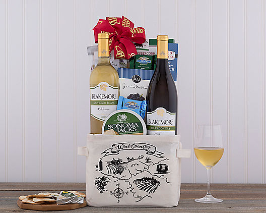 AAA White Wine Duet from Wine Country Gift Baskets Product Image