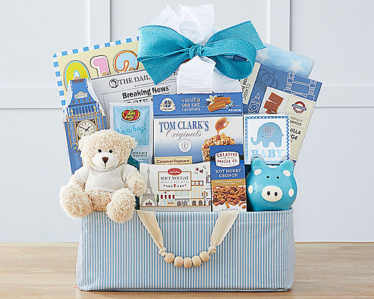 Bundle of Joy - Blue from Wine Country Gift Baskets Product Image