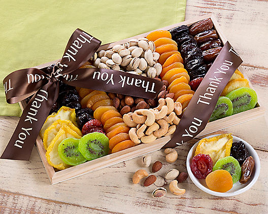 Thank You - Dried Fruit and Nut Collection from Wine Country Gift Baskets Product Image