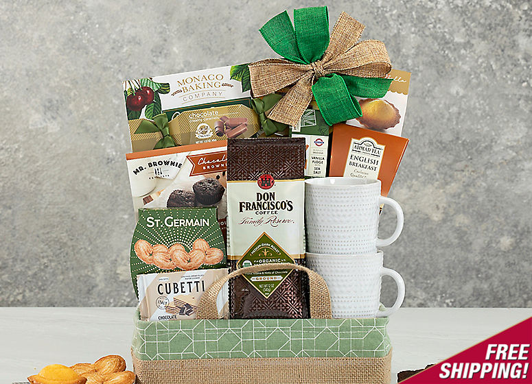 Coffee, Tea and Cocoa Assortment