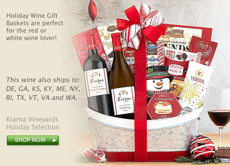 Kiarna Vineyards Holiday Selection