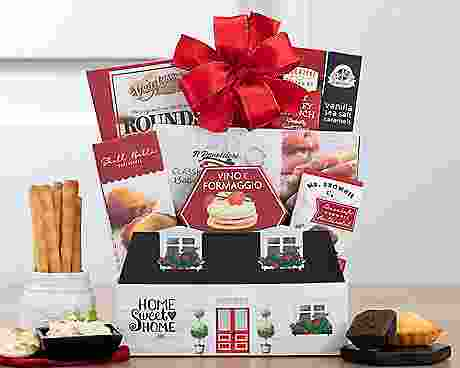 WELCOME HOME HOUSEWARMING GIFT BASKETS