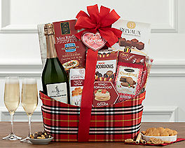 Suggestion - Italian Peach Bellini Gift Basket Original Price is $64.95