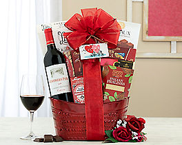 Suggestion - Ravenswood California Quartet Wine Basket Original Price is $125.00