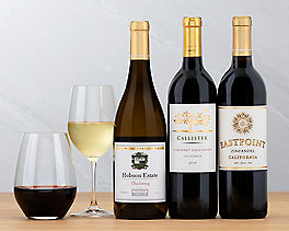 Suggestion - Cabernet, Chardonnay and Zinfandel