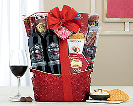 Suggestion - Wild Horse Winery Trio Gift Basket Original Price is $150.00