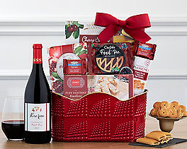 Suggestion - Nostalgic Sweet and Savory Selection Gift Basket Original Price is $89.95