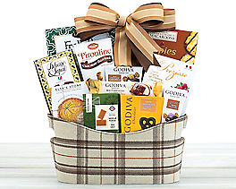 Suggestion - Godiva Chocolate and Sweets Gift Basket