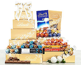 Suggestion - Deluxe Lindt Chocolate Gift Tower Original Price is $64.95