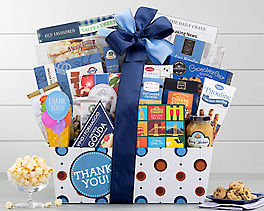 Suggestion - Thank You Gourmet Gift Basket