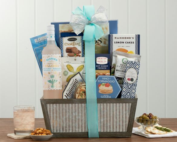 Fruit and sweets assortment at wine country gift baskets image2 negle Image collections