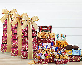 Suggestion - Chocolate and Sweets Tower (3-pack) Original Price is $119.85
