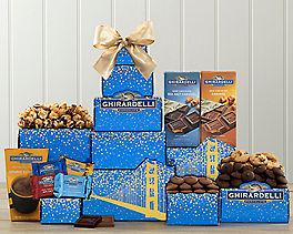 Suggestion - Ghirardelli Dark and Milk Chocolate Holiday Tower Original Price is $54.95