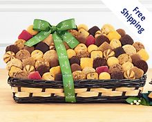 Ultimate Fresh Baked Cookie and Brownie Collection Gift Basket  Free Shipping