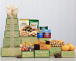 Suggestion - Lindt, Ghirardelli and Bakery Gift Tower Original Price is $49.95