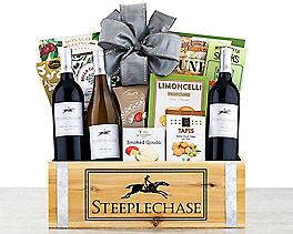 Suggestion - California Trio Wine Gift Basket Original Price is $89.95