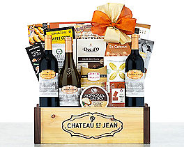 Suggestion - Chateau St. Jean California Collection Gift Basket Original Price is $200