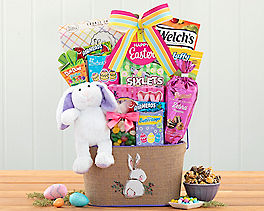Suggestion - Easter Chick and Sweets Gift Basket