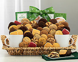 Suggestion - Cookie, Brownie, Coffee and Cocoa Gift Basket