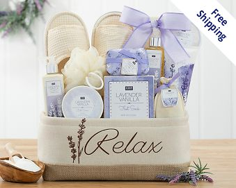 Item 223 - A Day Off Spa Gift Basket FREE SHIPPING