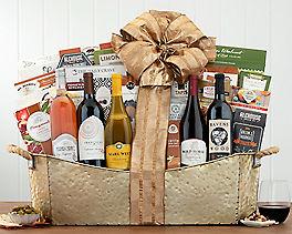 Suggestion - California Vineyards Wine Tasting Gift Basket Original Price is $195.00