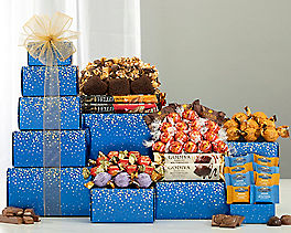 Suggestion - Deluxe Godiva, Ghirardelli & Lindt Chocolate Tower