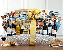 Suggestion - Half-Dozen Red and White California Wine Basket