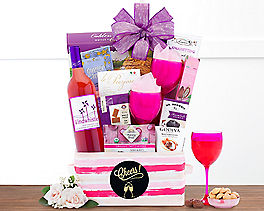 Suggestion - Cheers Wine Gift Basket