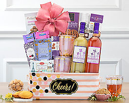 Suggestion - More Cheers Wine Basket