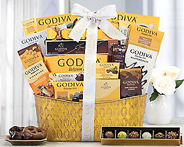 Suggestion - Godiva Extravaganza Chocolate Gift Basket