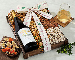 Suggestion - Hobson Estate Chardonnay and Mixed Nuts Original Price is $64.95