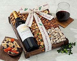 Suggestion - Cliffside Chardonnay and Mixed Nuts