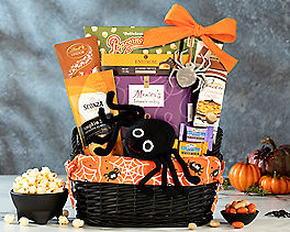 Suggestion - Friendly Spider Halloween Gift Basket