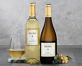 Suggestion - Houdini Napa Valley Sauvignon Blanc and Chardonnay