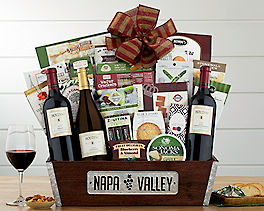 Suggestion - Houdini Napa Valley Selection Wine Basket