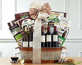 Suggestion - Houdini California Collection Wine Basket