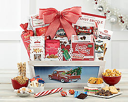 Suggestion - Merry & Bright Light up Truck Gift Basket