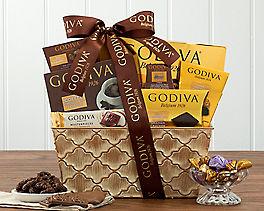 Suggestion - Godiva Treasures Chocolate Gift Basket
