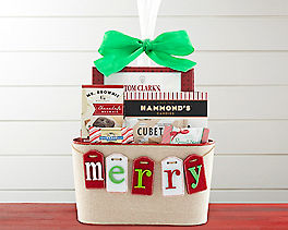 Suggestion - Be Merry Holiday Gourmet Gift Basket Original Price is $49.95